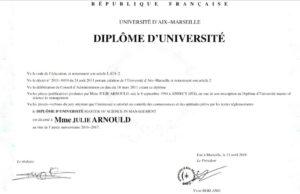 Diplôme MSC IAE